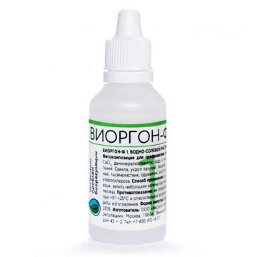 Виоргон-ф 1 (Риарсклерс) для профилактики атеросклероза